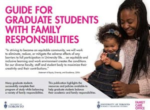 Guide for graduate students with family responsibilities PDF download