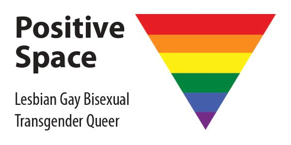 LGBTQ Positive Space Logo