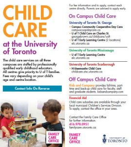 FCO Childcare Bookmark